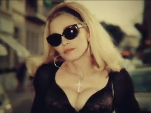 Madonna 'Turn Up The Radio' video