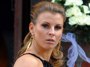 WAG Coleen Rooney attends the wedding of Wayne Rooney's cousin Leanne in Crewe Cheshire