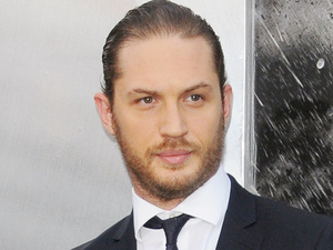 Tom Hardy at the world premiere of 'The Dark Knight Rises'