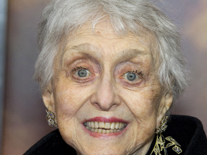 Celeste Holm pictured at the &#39;War Horse&#39; premiere in December 2011