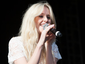 Diana Vickers on stage at Ponty's Big Weekend 2012, Wales.