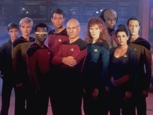 Star Trek: The Next Generation cast photo
