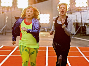 Absolutely Fabulous Olympics Special: Patsy (Joanna Lumley) and Edna (Jennifer Saunders)