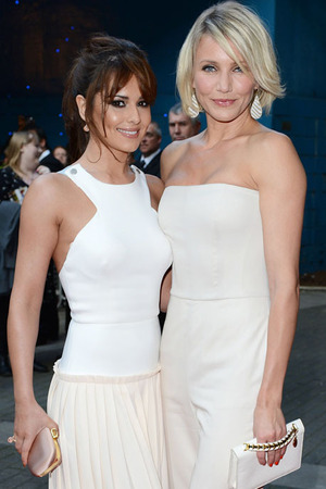 Cheryl Cole and Cameron Diaz at the 'What To Expect When You're Expecting' film premiere