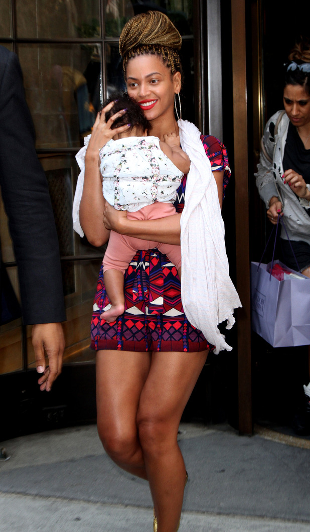 Beyonc and Blue Ivy Carter