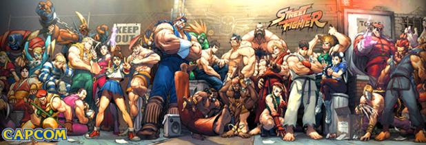 'Street Fighter' artwork
