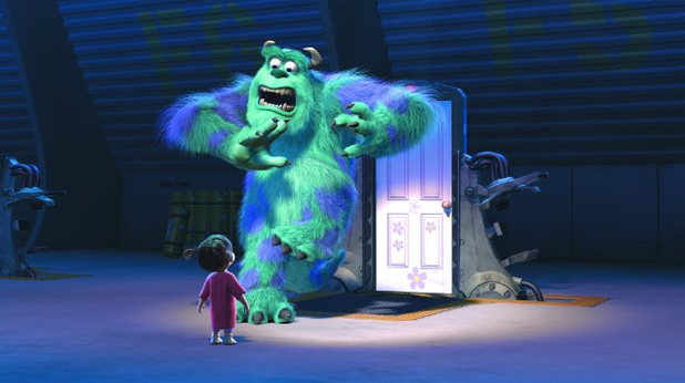 Pixar Monsters Inc