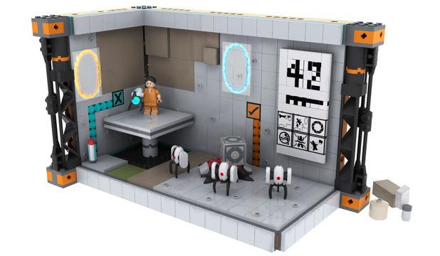 Lego Portal design