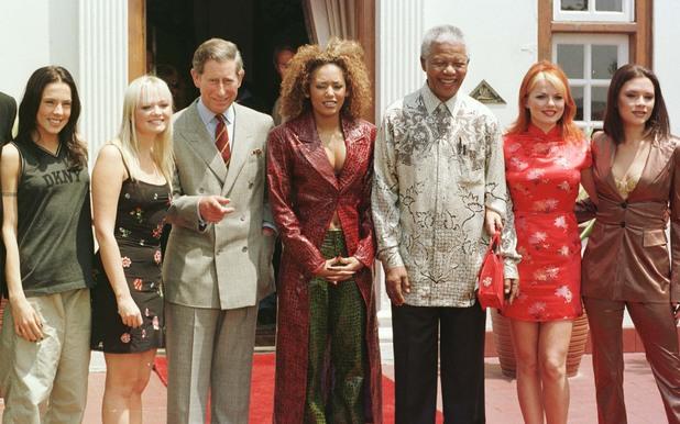 Spice Girls + Mandela