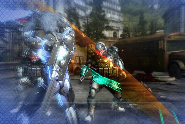 'Metal Gear Rising: Revengeance' screenshot