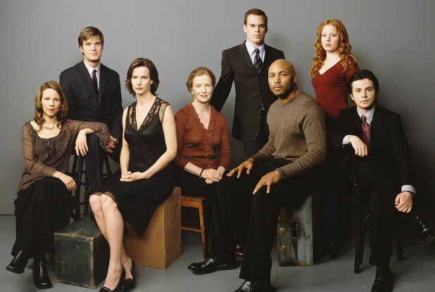 The cast of 'Six Feet Under'
