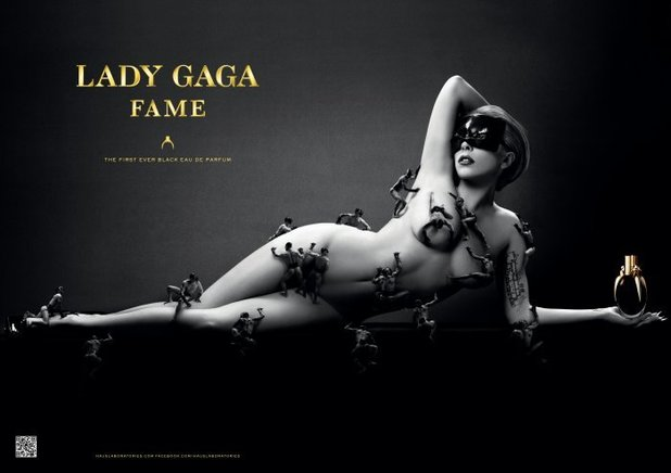 Lady GaGa Fame billboard
