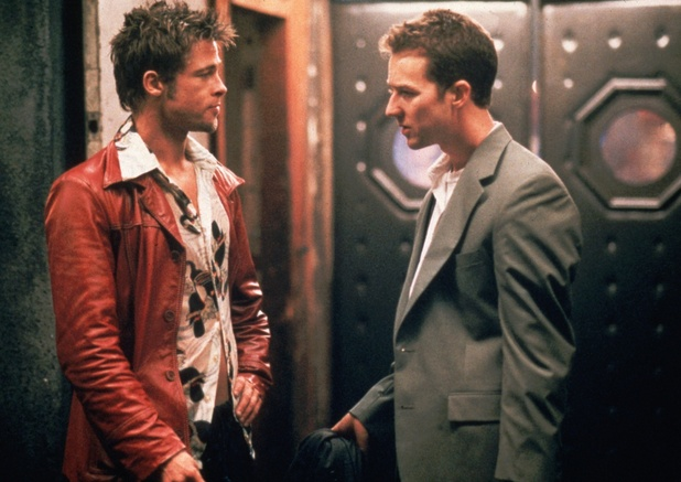 Fight Club, Edward Norton, Brad Pitt