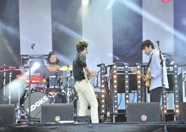 The Kooks performing live on stage during the Optimus Alive Festival in Lisbon