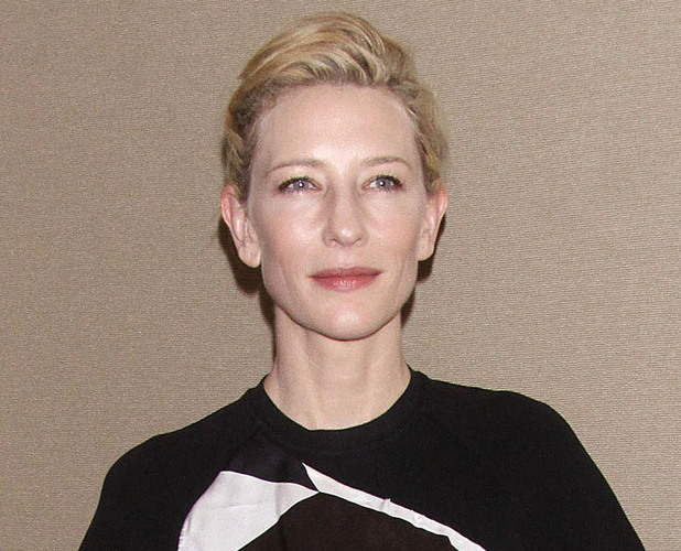 Cate Blanchett at the opening night party for 'Uncle Vanya' at the New York City Center.