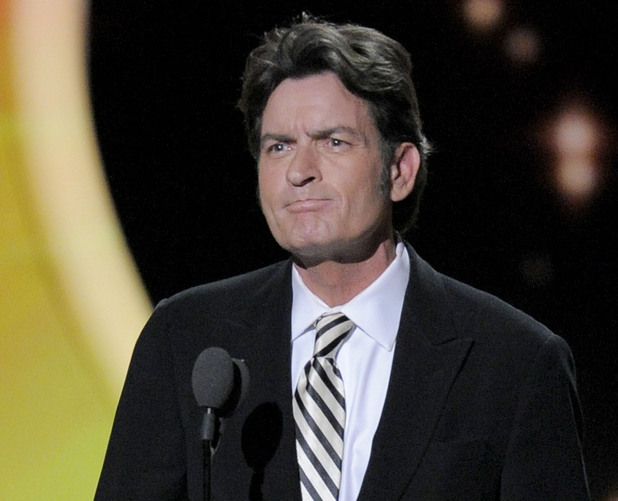 Charlie Sheen - 2011 Primetime Emmys