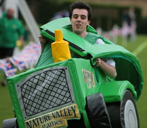 Digital Spy at the Nature Valley Games