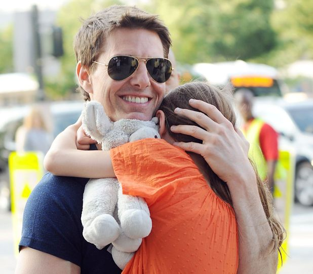 Tom Cruise and Suri's first visit since split