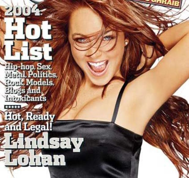 Lindsay Lohan's 'Hot Ready Legal' Rolling Stone cover