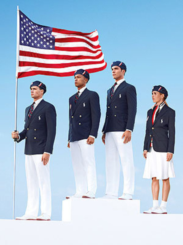 Ralph Lauren Olympic uniforms