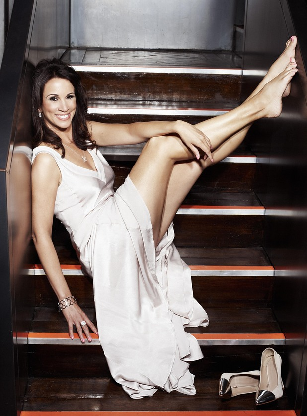 Andrea McLean poses for Closer