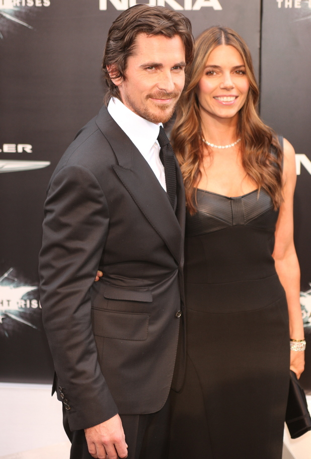 Christian Bale and wife Sandra Blazic