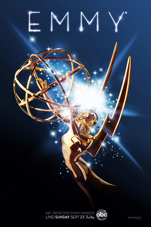 Emmy Awards 2012 poster