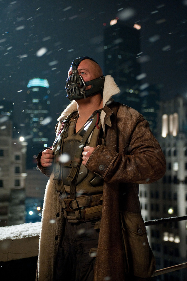 Tom Hardy Bane The Dark Knight Rises