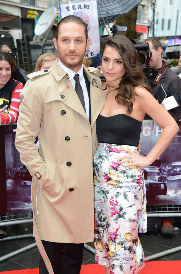 Previous Next Tom Hardy and Charlotte Riley at the UK premiere of The
