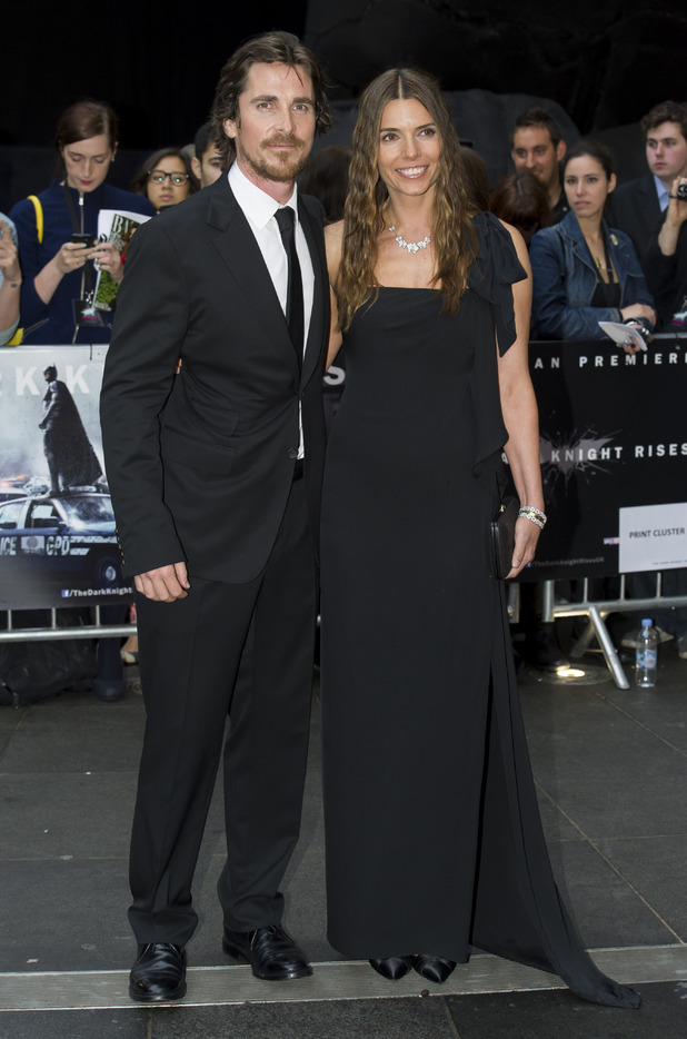 Christian Bale and Sandra Bale