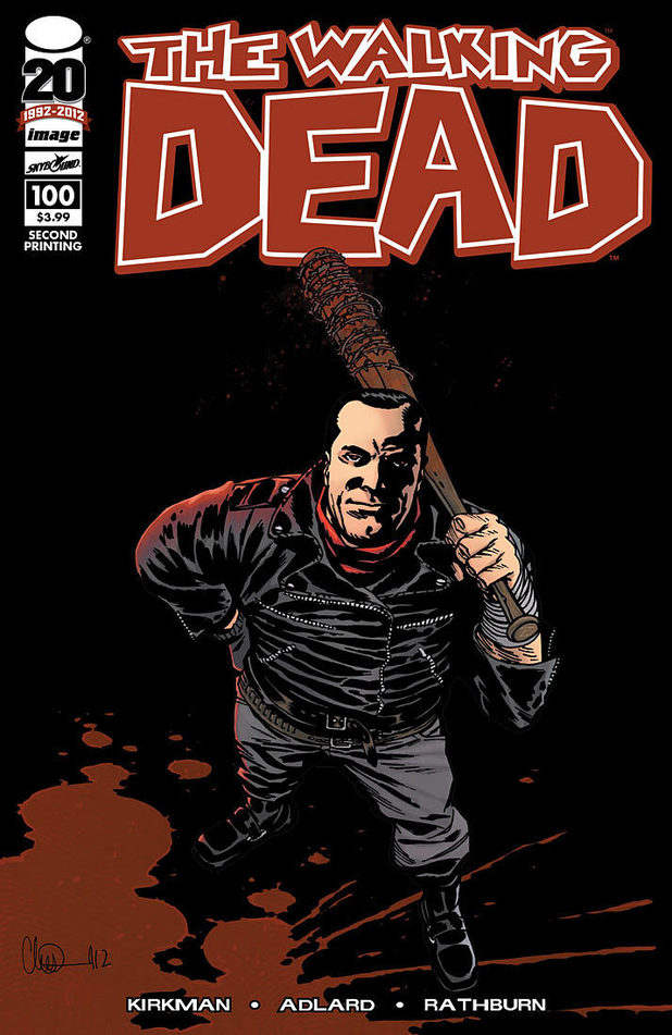Walking Dead #100 variant cover