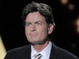 Charlie Sheen graduates from high school