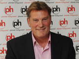 Glenn Hoddle at the unveiling of the London Legends Cup Kit at Planet Hollywood,