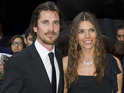 Christian Bale and Sandra Bale at the UK premiere of 'The Dark Knight Rises'
