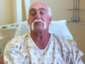 The TNA wrestling legend thanks fans for their support following his surgery.