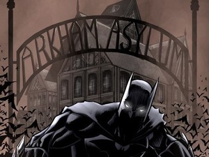 'Arkham Asylum: A Serious House on Serious Earth' artwork