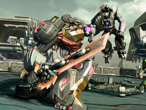 'Transformers: Fall of Cybertron' single player screenshot