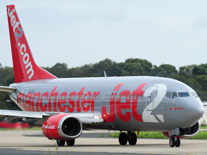 General picture of a Jet 2 plane