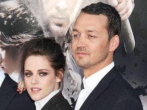 Kristen Stewart and Rupert Sanders at the Snow White and The Huntsman film premiere, Los Angeles, America - 29 May 2012