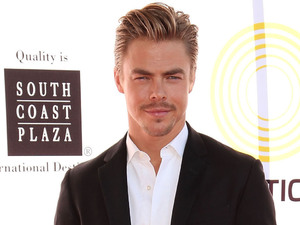 Derek Hough attends the 2nd Annual Dizzy Feet Foundation's Celebration of Dance Gala in Los Angeles.