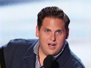 Jonah Hill receives the Choice Movie Comedy award