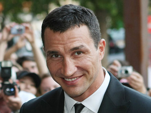 Wladimir Klitschko, at the Sports for Peace - Honouring and celebrating Muhammed Ali held at the V&A museum - Outside Arrivals London, England