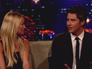 Emily and Arie on the Bachelorette: Final Rose