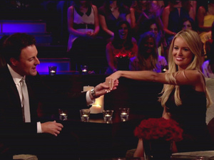 Emily and Jef on the Bachelorette: Final Rose