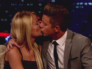 Emily and Jeff on the Bachelorette: Final Rose