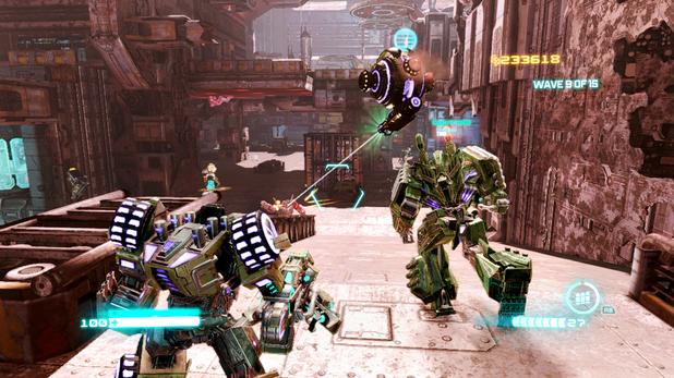 'Transformers: Fall of Cybertron' escalation screenshot