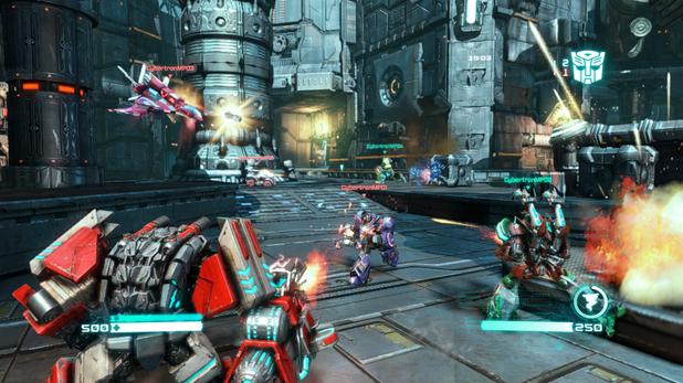 'Transformers: Fall of Cybertron' multiplayer screenshot