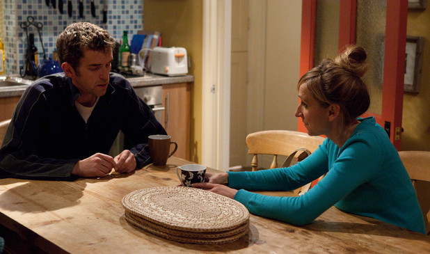 Marlon tells Laurel the solicitor has explained he has got rights to 'reasonable access' to Leo