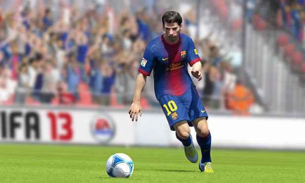 New Messi in-game screenshots for FIFA 13