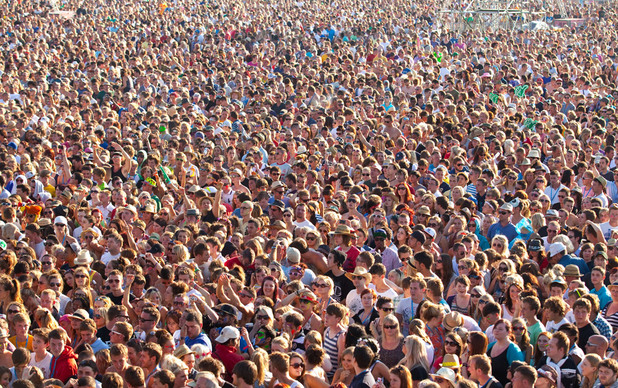 &#39;V Festival&#39; crowd